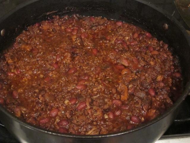 BBQ chilli con carne
