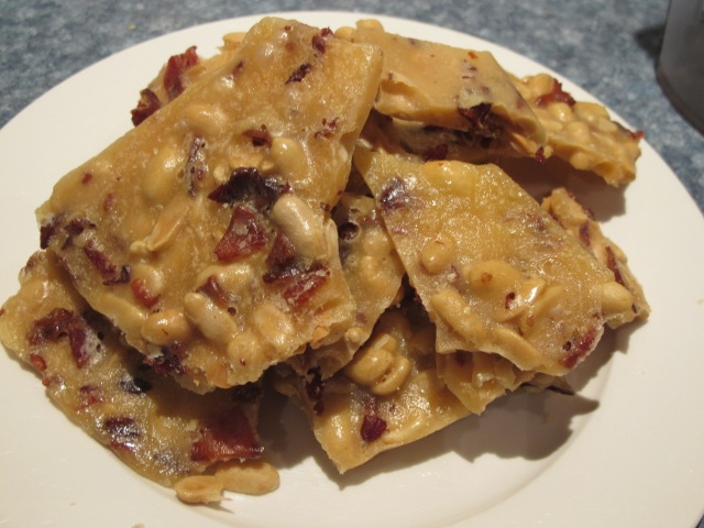 peanut bacon brittle